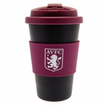 Aston Villa utazó bögre Silicone Grip Travel Mug